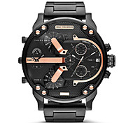 Men's Fashion Military Watch Multi Movement Quartz Steel Watch Wrist Watch Cool Watch Unique Watch