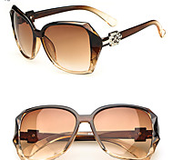 Fashion Women Retro UV400 Oversized Sunglasses