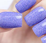 Ekbas Environmentally Safe Sugar Gum Violet 16ML Glitters Nail Polish