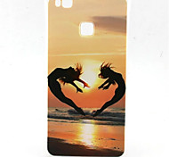 Beauty Love Pattern TPU Material Phone Case for  Huawei  P8 Lite/P9 Lite/G8