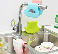 Silicone Sink Grid Storage Basket Hanging Basket Drop Kitchen Bathroom Toilet Carrying Baskets