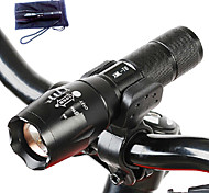 Lights LED Flashlights/Torch LED 3000 Lumens 5 Mode Cree T6 18650 / AAAAdjustable Focus / Waterproof / Rechargeable / Impact Resistant /
