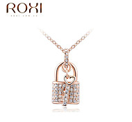 ROXI Golden Pendant Necklace Jewelry
