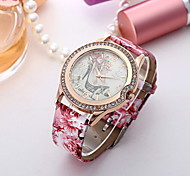 Women's Fashionable Leisure  High Heels Diamond Pattern Dial Watch Band Cool Watches Unique Watches