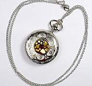 Unisex Pocket Watch Palace Wind Hollow Retro Classic Clamshell Pocket Watch   (Assorted Colors) Cool Watches Unique Watches