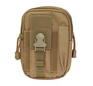 Outdoor Multi-functional Water-resistant Waist Bag - Mud Color
