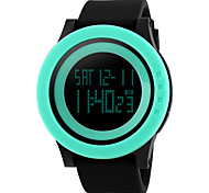 Skmei® Men's PU Band Outdoor Sports LED Multifunction Wrist Watch 30m Waterproof Assorted Colors Cool Watch Unique Watch