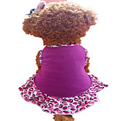 Dog Dress Purple Summer Lips Fashion
