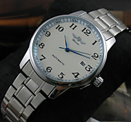 Men's Classic Auto Mechanical Stainless Steel Band Wrist Watch Fashion Watch Cool Watches Unique Watches
