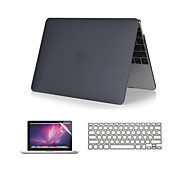 "3 in 1 Crystal Clear Soft-Touch  Case with Keyboard Cover and Screen Protector  for  MacBook Air 11""/13"""