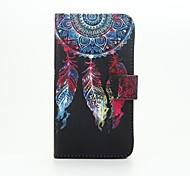For Wiko Case with Stand / Flip / Pattern Case Full Body Case Dream Catcher Hard PU Leather Wiko