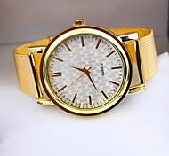 Mulheres Relógio de Moda Quartzo Lega Banda Prata Dourada Prata Dourado