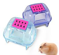 Plastic pet hamster sauna room deodorizing small animal hamster sand bath room bathroom potty quality