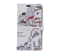 For Nokia Case Wallet / Card Holder / with Stand Case Full Body Case Hard PU Leather Nokia Lumia 550