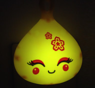 kreativ warmweiß lächelnd Sensorfläche Licht in Bezug auf Baby-Schlaf-Nachtlicht (gelegentliche Farbe)