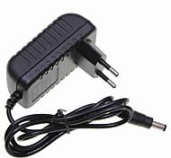 europe brancher 12v 2a LED / caméra de sécurité adaptateur d'alimentation du moniteur de CCTV lumière de bande (5.5x2.1 100-240V)