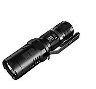 NITECORE EA11 900 Lumens Mini CREE XM-L2 U2 LED Pocket Flashlight(1XAA/14500, Black)