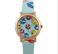 fashion women's watch Rose Watches Lips Watch quartz Wrist watch Students watch Cool Watches Unique Watches