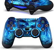 b-piel® la piel del abrigo de estilo se adapta para el controlador DualShock PS4 4 (controlador no incluido)