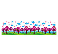 Wall Stickers Wall Decals Style Purple Grove PVC Wall Stickers
