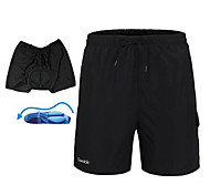 Santic Men's Cycling Shorts/Baggy Shorts with 3D Pad Quick Dry 2 in 1
