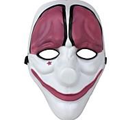 tema do jogo máscara de palhaço festival partido plástico