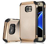 Para Samsung Galaxy S7 Edge Antigolpes Funda Cubierta Trasera Funda Armadura Silicona Samsung S7 edge / S7