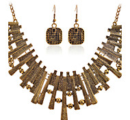 Fashion Summer Jewelry Gem / Rhinestone Jewelry Set Necklace/Earrings