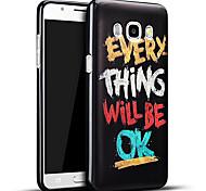 material de silicona de moda el modelo gráfico 3d alivio de la contraportada para Samsung Galaxy J7 (2016) / J7 Galaxy