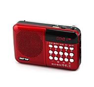 multifunción N-518 tarjeta canción digital de pequeño radio estéreo reproductor portátil