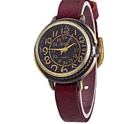 Men's Fashion Vintage Leather Watch Wrist Watch Cool Watch Unique Watch