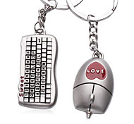 Kiss Baby Automobile Zinc Alloy  Key Buckle