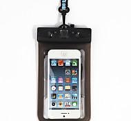 Caixas secos / Bolsas Impermeáveis Celular / Impermeável / Touch Screen Mergulho e Snorkeling Preta PVC