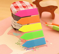 Solid Color Arrow Design Self-Stick Notes(1 PCS)