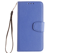 Luxury pure color  PU Flip Wallet Leather Phone Cases for iPhone for Galaxy Galaxy J1/J1 ace/J2/J3/J5/J 120/J J510