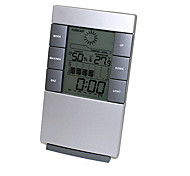 Humidity Mete LCD Digital Temperature Instruments Thermometer Hygrometer Temperature Humidity Meter Clock