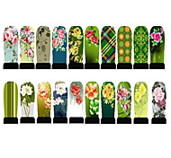 20pcs Hot Nail Art Water Transfer Stickers Decals Full Cover DIY Nail Designs Manicure Tools (C6-001 to C6-020)