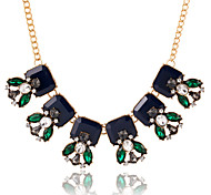 Necklace Pendant Necklaces Jewelry Wedding / Party / Daily / Casual Crystal / Alloy / Zircon Gold 1pc Gift
