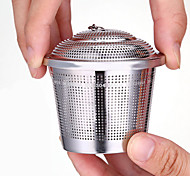 contenant des feuilles de thé d'assaisonnement en acier inoxydable 304 (l)