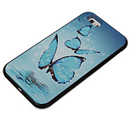 The Butterfly Pattern Take Pictures Fill Light PC Back Case for iPhone 6/6s/6 Plus/6s Plus