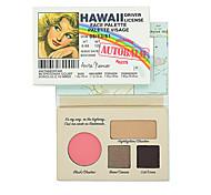 die b @ lm Kosmetik neue 2 Arten Hawaii und Kalifornien nackt matten Lidschatten-Palette Make-up