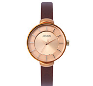 Julius® Women Watch Korea Fashion Waterproof Wristwatch Leather Belt Student Wristwatch JA-638