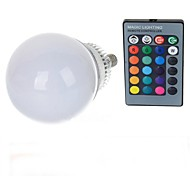 E14 85V-265V 600-900Lm 10W RGB Remote Control LED Colorful Bulbs
