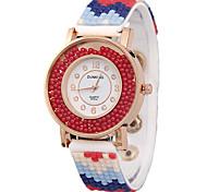 diamante cinghia di moda femminile orologi orologi al quarzo flusso orologi di perforazione