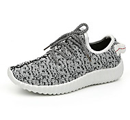 Running Sneakers / Running Shoes Men's Anti-Slip / Damping / Ventilation / Wearproof / Breathable Coconut Shoes Leisure SportsWhite /