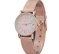 Couple's Fashion Watch Quartz Alloy Band Heart shape Charm Rose Gold Rose Gold Strap Watch