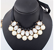 Women's Fabric Necklace Collar Necklaces