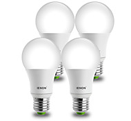 IENON®  4 pcs 9W E26/E27 LED Globe Bulbs A60(A19) 1 COB 850-900 lm Warm White / Cool White Decorative AC 100-240 V