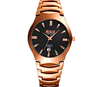 Women's Fashion Watch Casual Watch Quartz Alloy Band Rose Gold