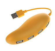 USB 2.0 4 porte / interfaccia hub USB bel frutto di mango 11 * 2 * 1